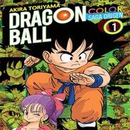 Dragon Ball Color:saga Origen #01(nueva Serie)-manga - Ivrea
