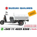 Zanella Tricargo 125 Xt Utilitario Carga Triciclo Con Caja