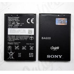 Bateria Pila Sony Xperia U St25 Xperia P Ba600 1290 Mah Sea