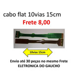 Cabo Flat 12-03200-395 Cd Pioner 10 Vias 15cm