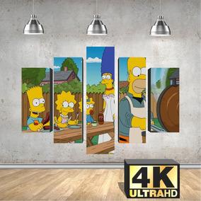 Quadro Placa 137x70 Simpsons Temporadadoce A490