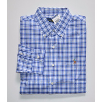 Camisa Social Polo Ralph Lauren Tamanho G / L Classic Fit