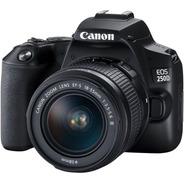 Camara Canon Eos 250d Kit 18-55mm