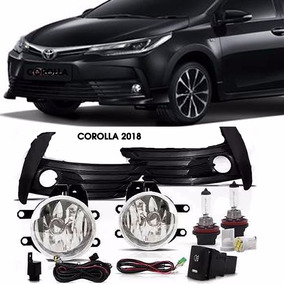 Kit Farol Milha Neblina Corolla 2018