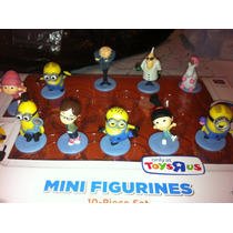 Figuras Mi Villano Favorito 2 Figurines Minionsgru Unicorni