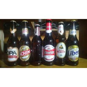 6 Garrafas De Cerveja Antigas Para Colecionador