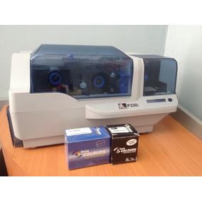 Impresora De Carnet Zebra P330i + Regalos.