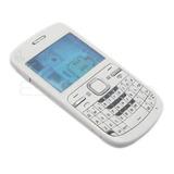 Carcasa Nokia C3 Completa Color Blanco
