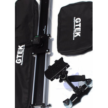 Steadycam Linecam Hd-1000 + Slider Travelcam 4k Gtek Kit Mov