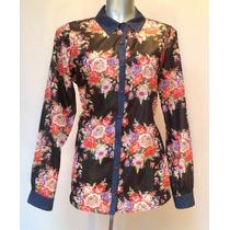 Blusa De Gasa (camisa De Dama, Blusa De Mujer, Camisa Casual