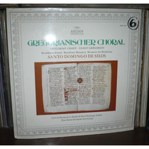 Gregorian Chant Choral Santo Domingo De Silos Lp Archiv