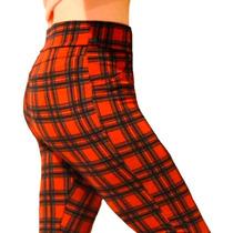 Leggins Cuadrillé Calza Escocesa