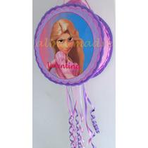 Piñata Infantil Personalizada Cumpleaños Rapunzel