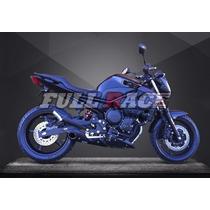 Escapamento Yamaha Xj6 Willy Made - Full 4x1