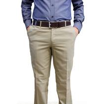 Pantalón De Vestir Beige Marca Concrete