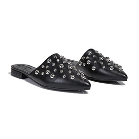 Slippers Mocasines Con Tachas Forever 21 Importados