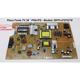 Placa Fonte Tv39 Philips 39pfl4707g/78 715g5194-p02-w20-002s