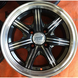 Llantas 14 Tvw 4x108 Ford Peugeot Dodge Deportivas Envío Int