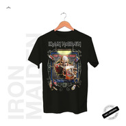 Camiseta Oficial Iron Maiden Trooper Arms Tour 2019
