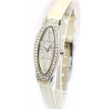 Reloj Orient Quartz Lady Rose Blanco Cristales Swarovski Gar