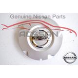 Tapa De Rin De Alumino Platina 02 A 10 Nissan Original