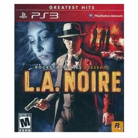 L.a. Noire - Ps 3 - Lacrado | Mídia Física