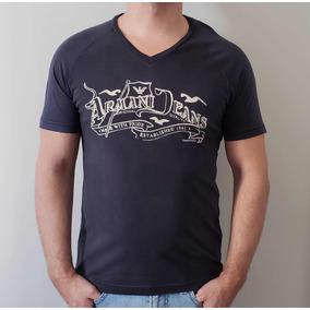 4ae35f4839d99 Camiseta Gringa M Osklen Armani Exchange - Camisetas Manga Curta no ...