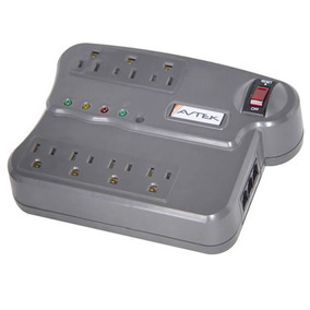 Regulador Multiprotector Voltaje Avtek Mpt-1921 Fax/modem