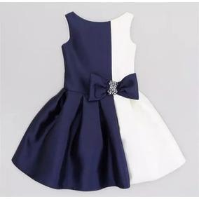 Vestido Infantil Festa Importado Menina Cetim Pronta Entrega
