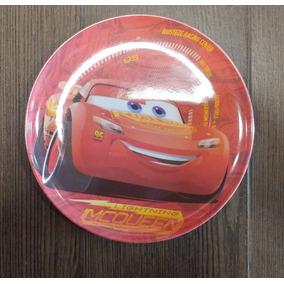 Fiesta Cars Rayo Mc Queen Plato Melamina Como Recuerdo