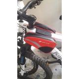 Bolso Rojo Doble Marco Cuadro Bicicleta - Triangular