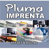 Imprenta Grafica Pluma 2000 Volantes Folletos 10x15 Cm B/n