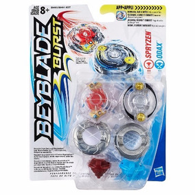 Beyblade Burst Dual Pack+ Lançador - Spryzen & Odax - Hasbro