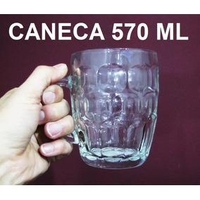 Caneca Chopp 570 Ml Vidro Canecão Cerveja Bar Restaurante