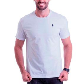 Kit 10 Camisetas Masculina Gola Redonda Bordadinho Atacado