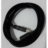 Cable Hdmi V 1.4 Alta Velocidad Full Hd Y 3d De 1.8 Metros.