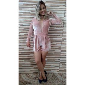 Macaquinho Festa Moda Feminina