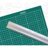 Tabla De Corte Dasa A1 90x60cm +regla Aluminio Protect 100cm