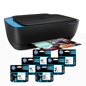 Hp Impresora Todo En Uno Ultra 4729 Deskjet Con 6 Cartuchos