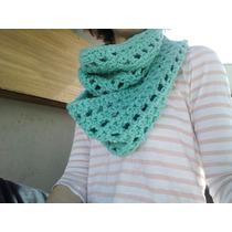 Bufanda Cuello Infinito Tejido Crochet