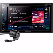 Central Multimidia Pioneer Avh-298bt 2din + Camera De Re