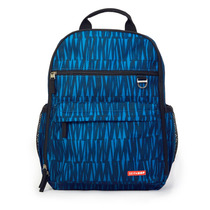 Pañalera Bolsa Duo Signature Backpack Azul Graffiti Skip Hop