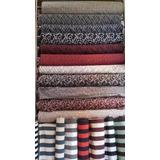 tela para tapizar jacquard doble faz