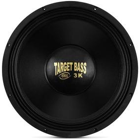 Woofer Eros E-15 Target Bass 3.0k 15 1500wrms 4 Ohms