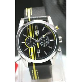 Relógio Ferrari Scuderia Pul.couro Sf.19.1.14.0140 Original