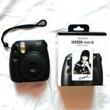 Camara Fujifilm Instax Mini 8 Negra + Album Nueva Fac