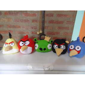 Muñeco Peluche Angri Birds ( Precio Por Unidad)