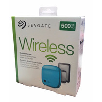Disco Duro Externo Seagate 500 Gb Wireless Mobile Storage