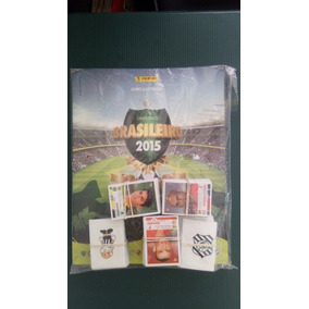 Álbum Campeonato Brasileiro 2015 Completo Pra Colar