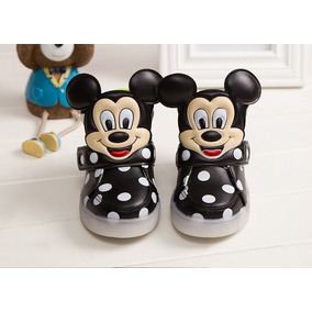 Zapatillas Leds Unisex Mickey Mouse